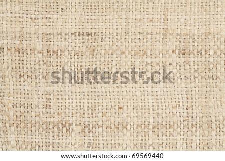 Rough Handmade Fabric Texture - stock photo