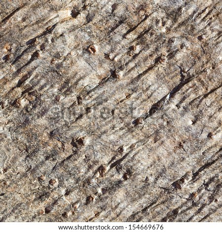 Rough Rock Or Stone Texture, Neutral Brown Detail Backdrop, Abstract Background Grunge Design  - stock photo