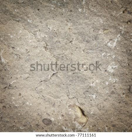 Rough stone background - stock photo