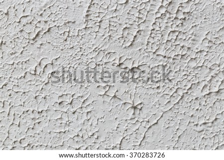 Rough surface of the wall The concrete surface of the rough uneven walls. - stock photo