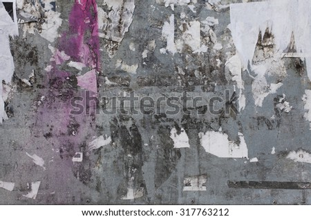 Rough textured blank concrete photo background - stock photo