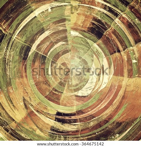 Rough vintage texture. With different color patterns: yellow (beige); brown; black; green; gray - stock photo