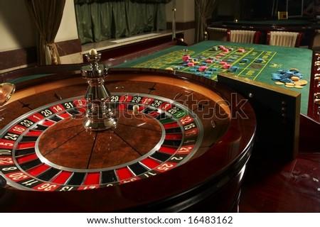 Roulette casino - stock photo