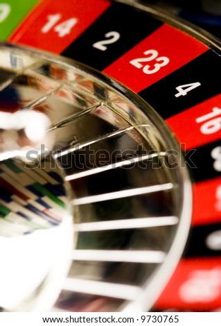 Roulette & Casino - stock photo