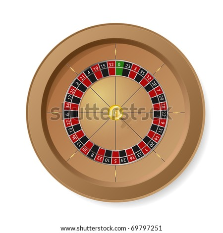 Roulette Wheel. Look for vector version at my portfolio.