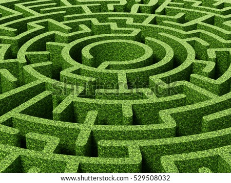 Cigdem 39 s portfolio on shutterstock for Garden maze designs