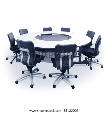 Round Conference Table And Chairs Round Table And Chairs