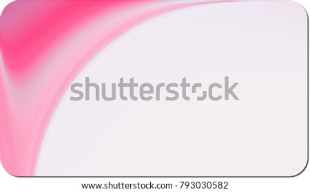 Rounded corner business card background design stock illustration rounded corner business card background for design reheart Images