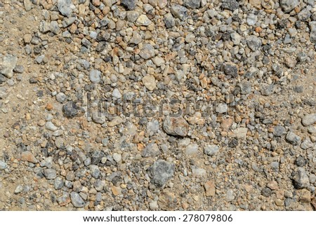 rounded pebble stones - stock photo