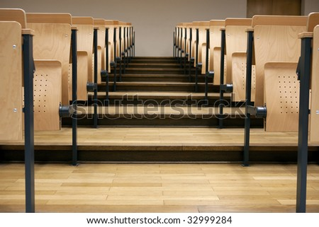 Rows / Seats in a lecture hall