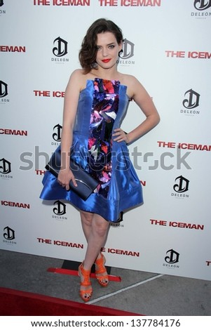 "Roxane Mesquida at ""The Iceman"" Red Carpet, Arclight Theater, Hollywood, CA 04-22-13"