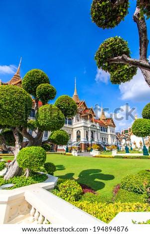 Royal grand palace in Bangkok, Asia Thailand  - stock photo