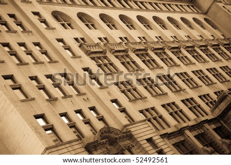 Royal Liver Building.  One of the first reinforced concrete buildings to be built. 1911. Liverpool, UK - stock photo