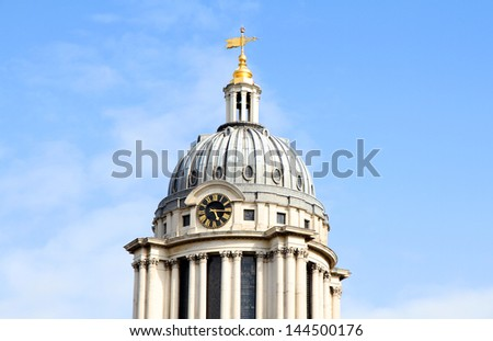 Royal Naval College in Greenwich, London, UK - stock photo