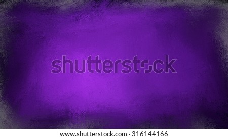 royal purple background with black and white faded grunge borders - stock photo