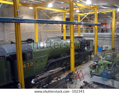 Royal Scot in for Repair