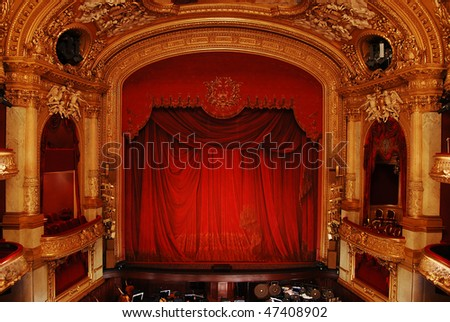 Royal Swedish Opera in Stockholm, interior