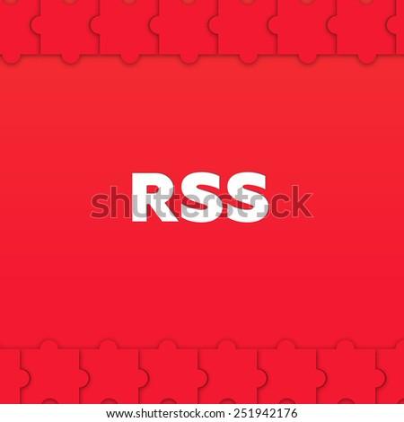 RSS - stock photo