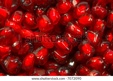 ruby pomegranate seeds