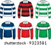 Rugby Jersey - stock vector