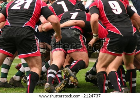 rugby union - stock photo