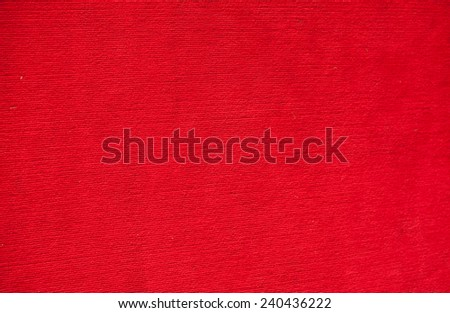 Rugs and red background. - stock photo