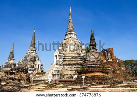 Ruin City World Heritage Sites Thailand