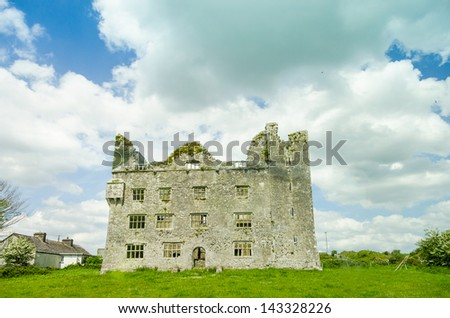 Ruins of Leamanagh Castle, Ireland