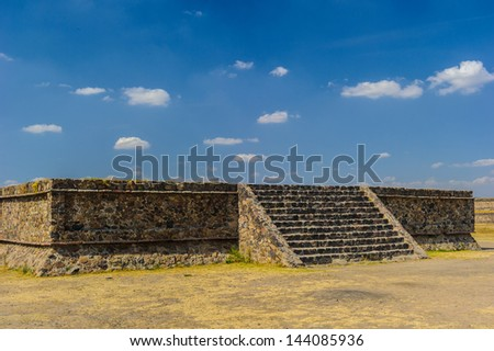 Ruins of Teotihuacan, Mexico