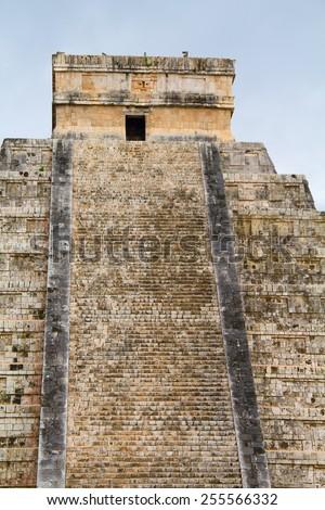 Ruins of the Chichen-Itza, Yucatan, Mexico - stock photo