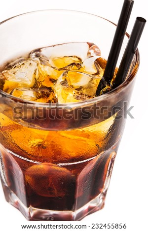 Rum cocktail - stock photo