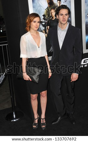 """Rumer Willis & Jayson Blair at the Los Angeles premiere of """"G.I. Joe: Retaliation"""" at the Chinese Theatre, Hollywood. March 28, 2013  Los Angeles, CA Picture: Paul Smith - stock photo"""