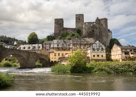 runkel historic city hessen germany