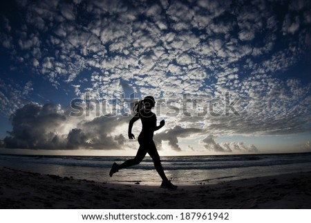 Running - stock photo