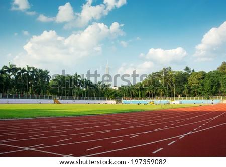 running - stock photo