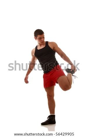 Running Man - stock photo