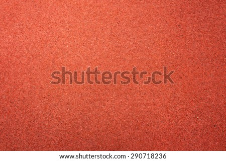 Running track texture - stock photo