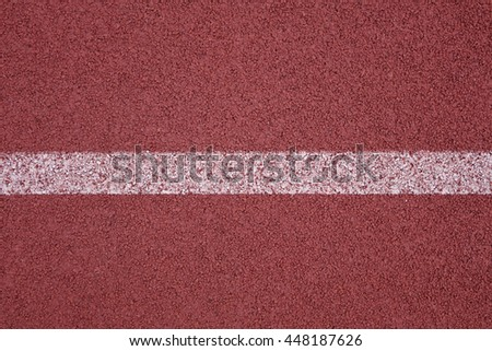 running track with line background - stock photo