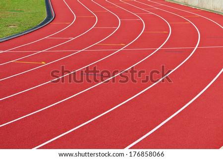 Running way - stock photo
