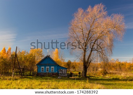 Rural house in Lvovka village, Russia