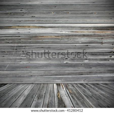 rural house interior - stock photo