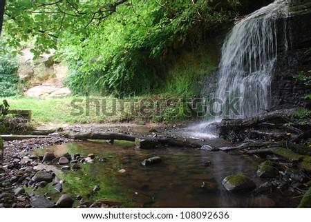 Rural Waterfall - stock photo