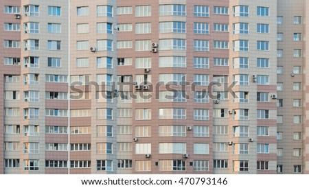 Russia, high-rise building