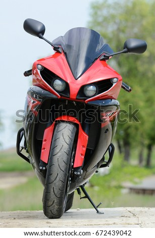 Russia Saratov June 25 2017 Motorcycle Stock Photo Royalty Free