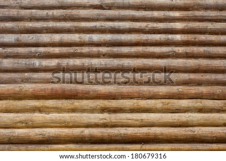 Russian National House of log - wall