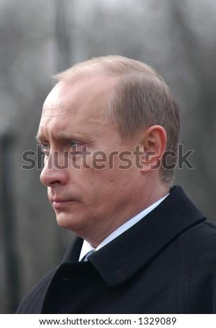 Russian president Vladimir Putin - stock photo