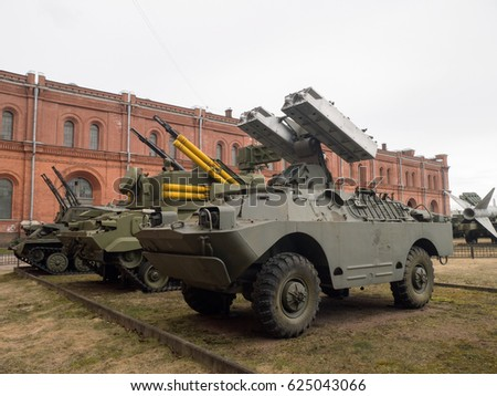 Russian Soviet anti tank missile launcher
