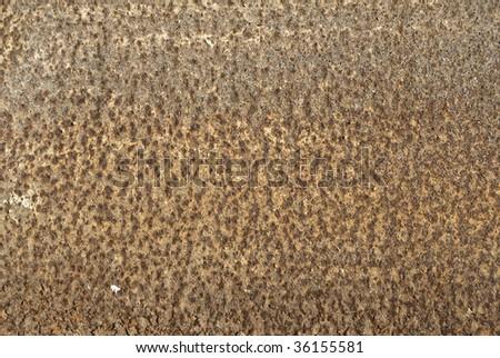 rust on ferric - stock photo