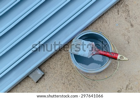 Rust protective paints  - stock photo