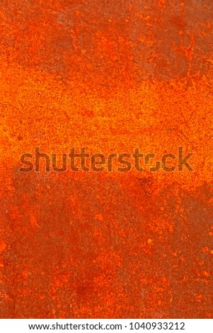 Rust steel wall background & texture